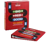 Brimar's Big Red White Paper Book